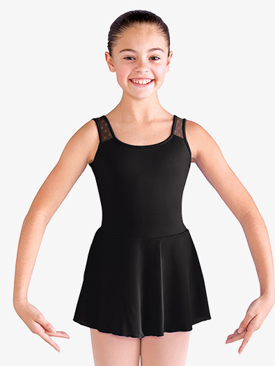 Girls Daisy Mesh Tank Ballet Dress - Style No CL9825