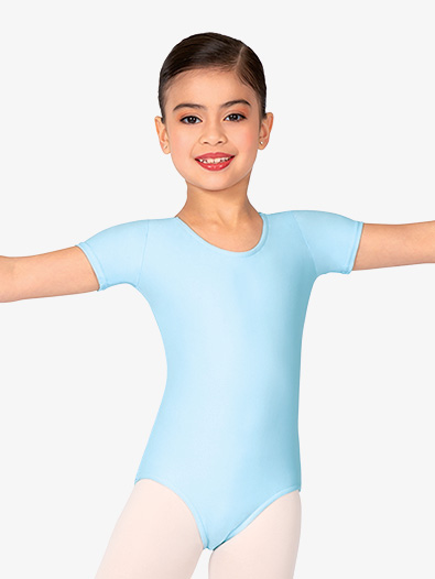 Child Short Sleeve Dance Leotard - Style No D5102C