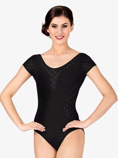 Adult Bolshoi Stars Collection Polka Dot Cap Sleeve Leotard - Style No DA1509Mx