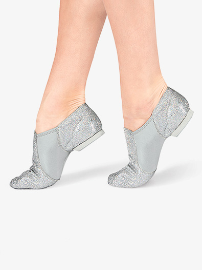 Adult Glitter Jazz Shoes - Style No DAZZLE