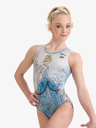 Girls Disney Cinderella's Couture Leotard - Style No DSY116C