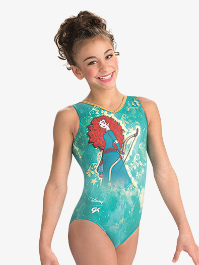 Girls/Womens Disney Brave Fusion Leotard - Style No DSY121C