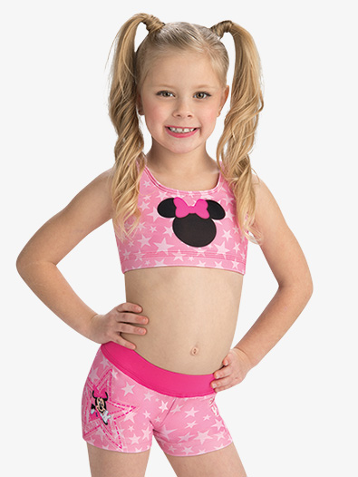 Girls Disney Starring Minnie Mouse Shorts - Style No DSY147C