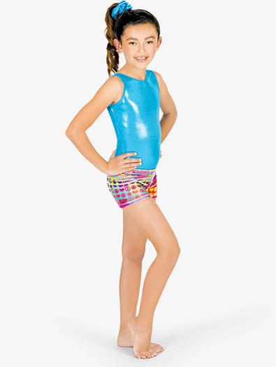 Child Groovy Dance Shorts - Style No G527C
