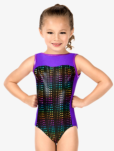 Child Matrix Tracer Boatneck Tank Leotard - Style No G667C