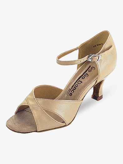 Ladies Latin/Rhythm Ballroom Shoes - Style No GO408