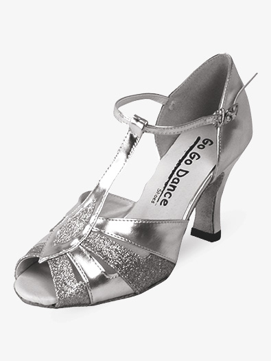 Ladies Latin/Rhythm Ballroom Shoes - Style No GO958