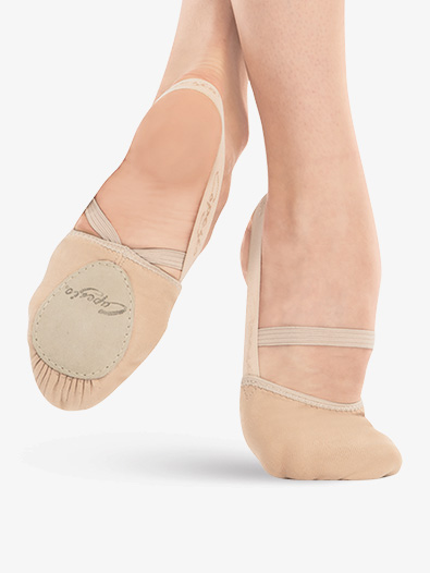 Adult Pirouette II Canvas Lyrical Shoes - Style No H061