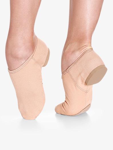 Girls ''Jill'' Split Sole Canvas Jazz Shoes - Style No JZ75C