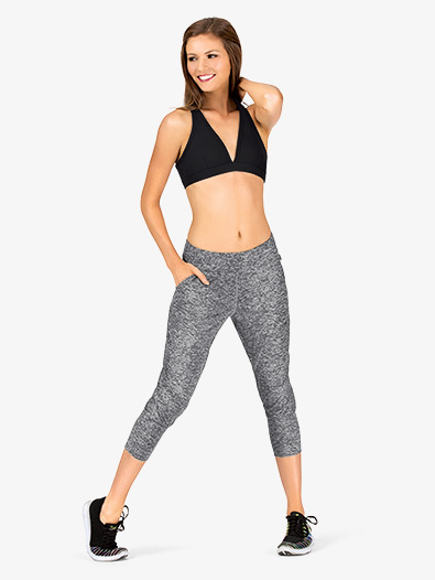 Womens Capri Workout Pants - Style No K3839