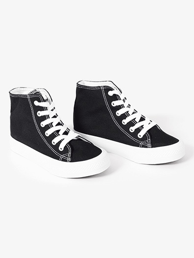 Girls Hi-Top Canvas Dance Sneaker - Style No KIXC