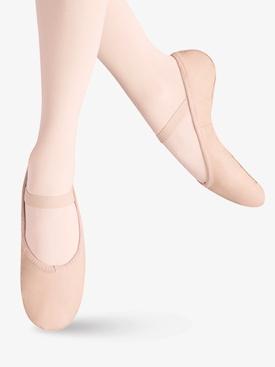 Girls Ballet Russe Full Sole Ballet Shoes - Style No LS2001G
