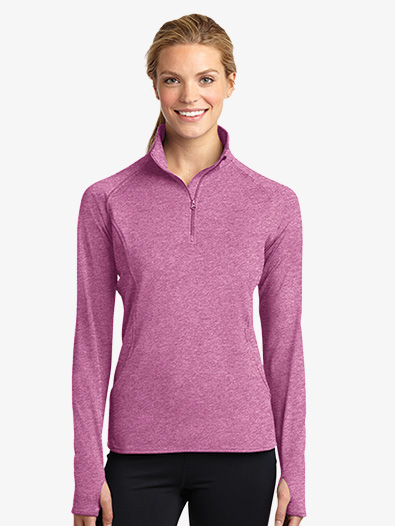 Ladies 1/2 Zip Pullover Jacket - Style No LST850