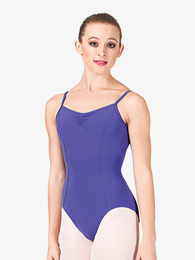 Adult Pinch Front Seam Cami Leotard - Style No M210LD