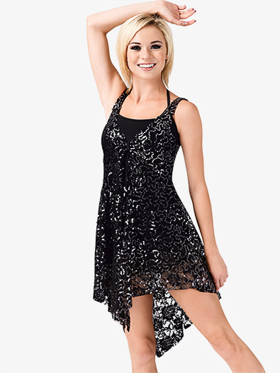 Tank Sequin Lace Overdress Style No N7182