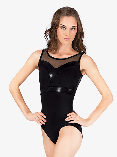 Adult Sweetheart Pleather Leotard - Style No N7206