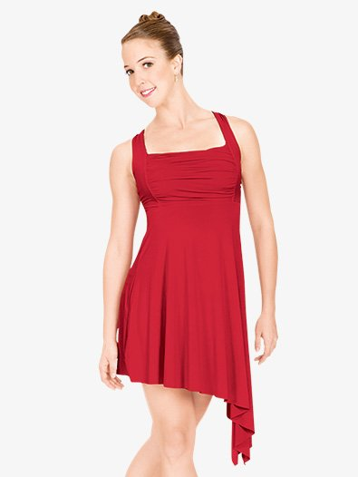 Adult Twist Back Lyrical Dress - Style No N8600