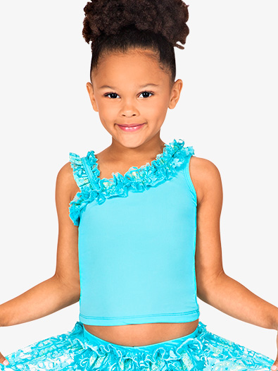 Child Asymmetrical Tank Top - Style No N8680C