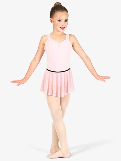Adult Pull-On Mesh Ballet Skirt - Style No N8757C