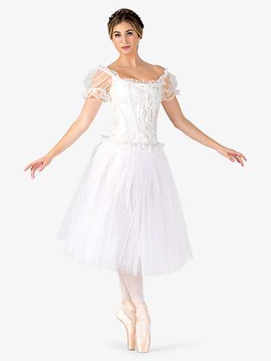 Womens Romantic Length Ballet Tutu Skirt - Style No N9013
