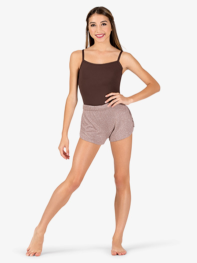 Womens Side Pinch Warm Up Shorts - Style No N9084