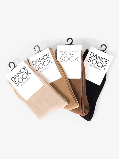 Kids Ankle Dance Socks - Style No NSOCKC
