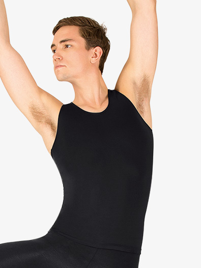 Mens Microfiber Dance Tank Top - Style No P325M