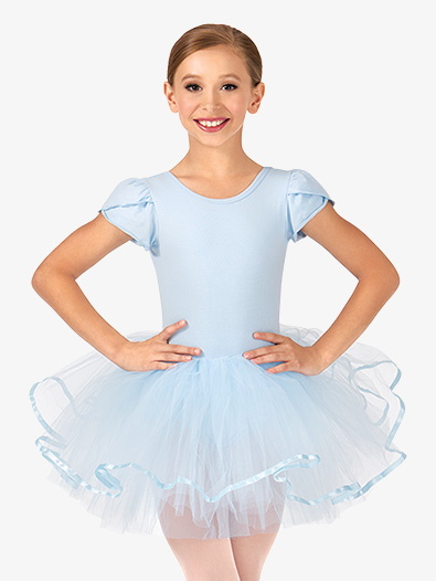 Child Short Sleeve Tutu Costume Dress - Style No PB2022C  sc 1 st  Discount Dance : blue ballerina costume  - Germanpascual.Com