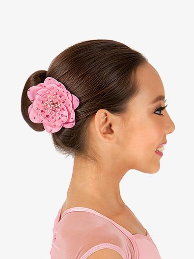 Silk flower hair clip accessories discountdance silk flower hair clip style no sf mightylinksfo Choice Image