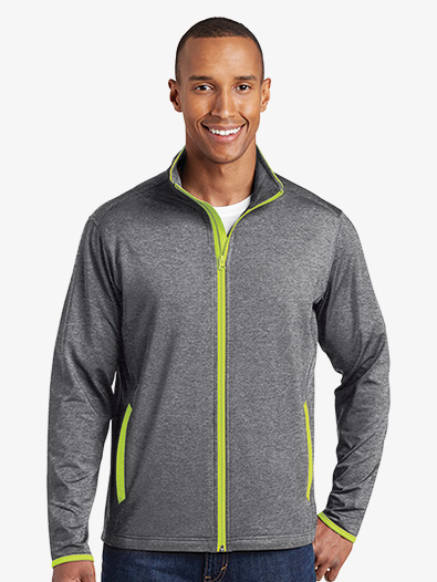 Mens Contrast Full Zip Jacket - Style No ST853