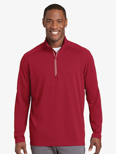 Mens Quarter Zip Pullover - Style No ST860