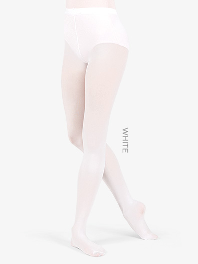 Adult Footed Tights with Smooth Self-Knit Waistband - Style No T5415