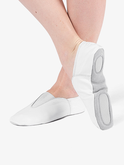 Girls Split Sole Gym Shoes - Style No T8302C