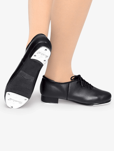 Child Lace Up Tap Shoes - Style No T9500C