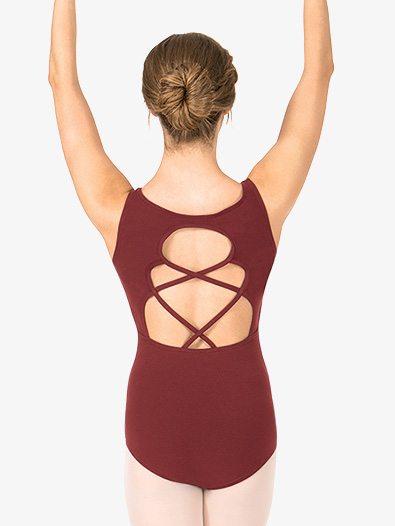 Adult Keyhole Back Tank Dance Leotard - Style No TH5528