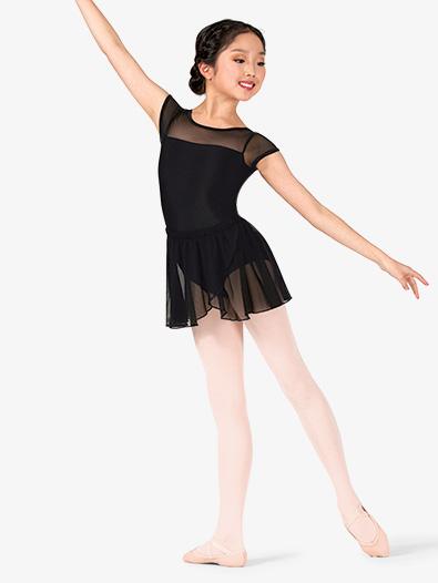 Girls Mesh Pull-On Ballet Skirt - Style No TH5554C