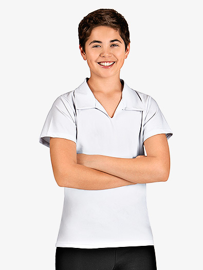 Boys Short Sleeve Collared Shirt - Style No TH8002C