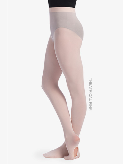 Girls Convertible Dance Tights - Style No TS81