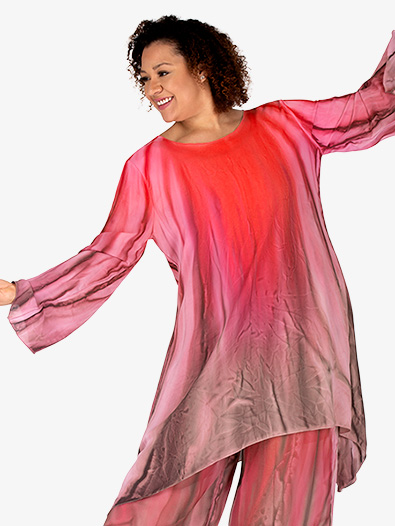 Women's Worship Long Sleeve Tunic - Style No WC101