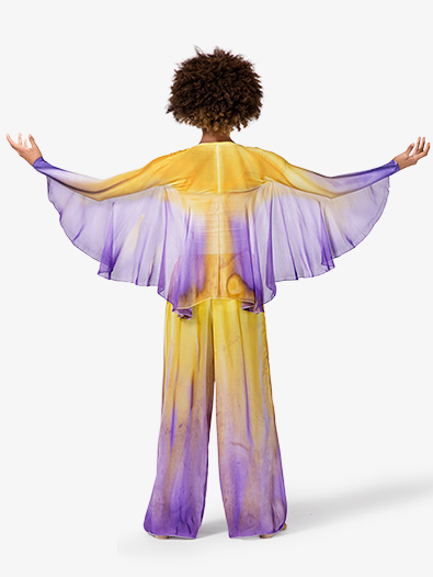 Girls Worship Winged Shrug - Style No WC107C