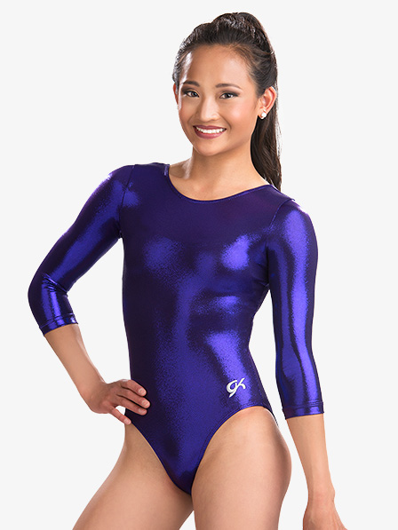 223d2b261 Mystique 3 4 Sleeve Leotard - Gymnastics