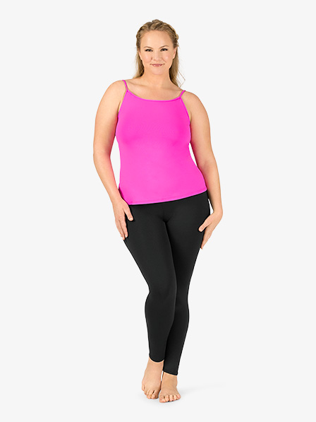 65fd9fb1a9a Plus Size Team Basic Compression Camisole Dance Top - Tees   Tanks ...
