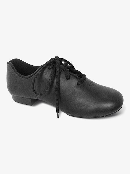 Black Split Sole Clogging Shoes