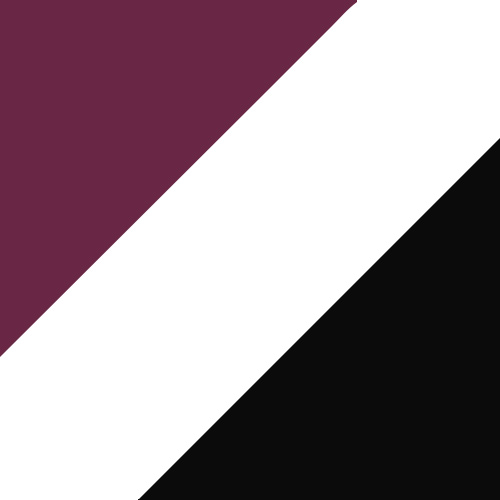 Maroon/White/Black