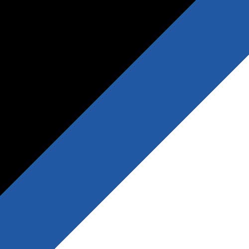 Black/Tropic Blue/White