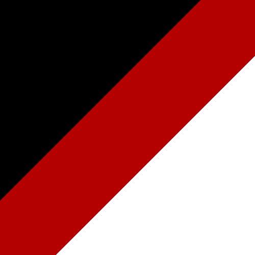 Black/True Red/White