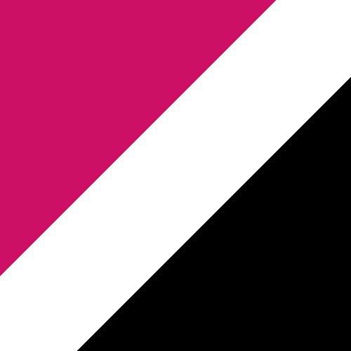 Pink Raspberry/White/Black