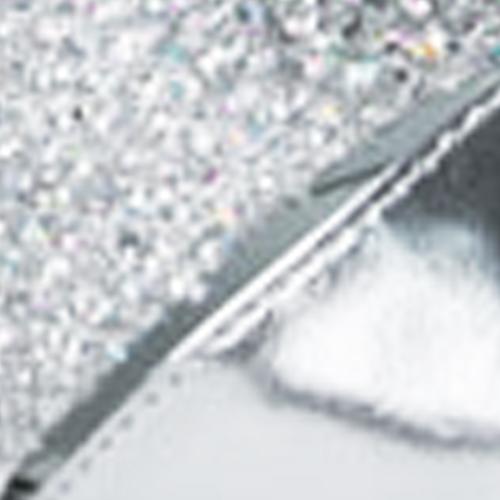 Silver Leather / Sparkle