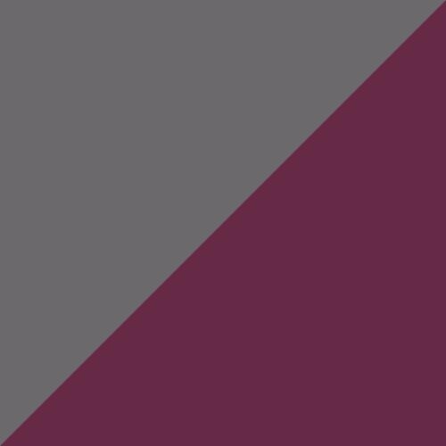 Grey Print/Maroon