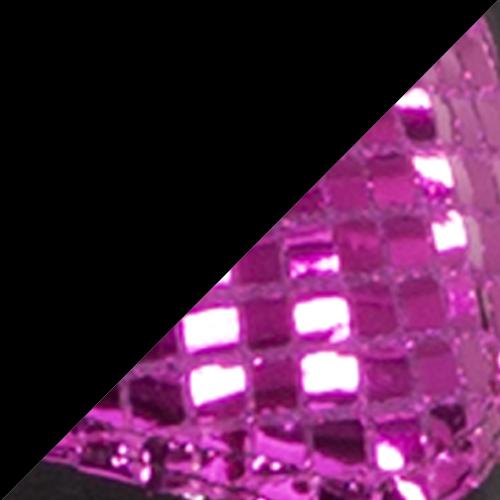 Black / Hot Pink
